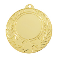 Generic 25mm Centre Wreath Medal