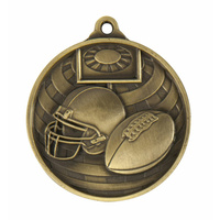 Global Medal-Grid Iron Football