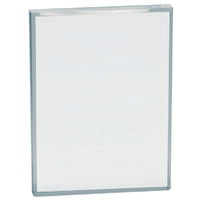 Rectangle acrylic