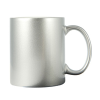 Sub. Coffee Mug-Silver(sold in ctns of 36 only)