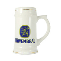 ES102WH: Sub Beer Stein-White(sold in cartons of 24 only)