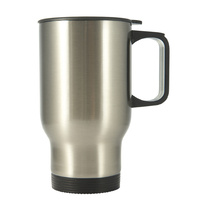 Sub Stainless Steel Travel Mug-Silver(in white box)